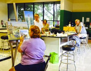 OIL or ACRYLIC PAINTING Classes for Adults