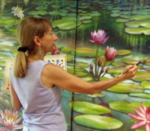 Artist, Nancy Tilles Offers Painting Classes In Palm Beach Gardens Florida